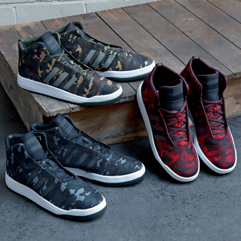 adidas camouflage rosse