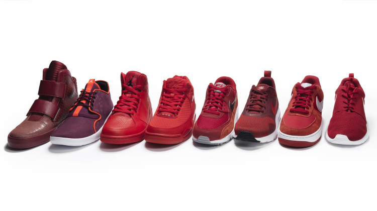foot locker - black & red collection - whynot mag