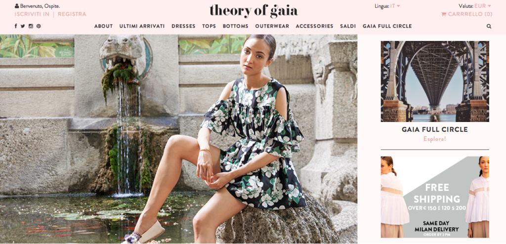 theory of gaia homepage