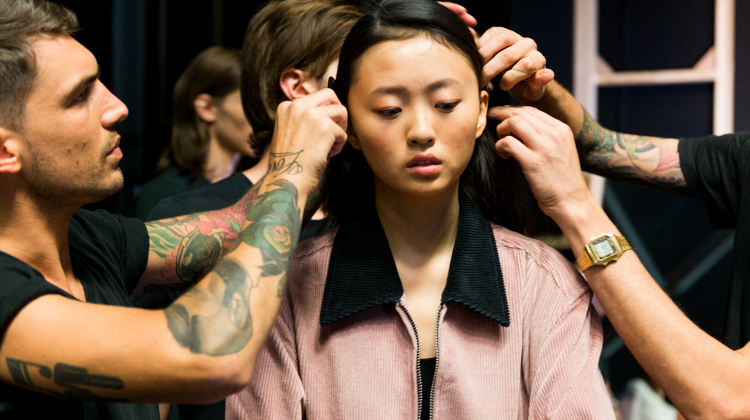 #MFW: AU JOUR LE JOUR BACKSTAGE WITH TONI&GUY