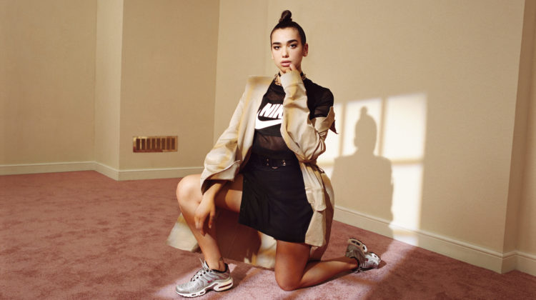 dua lipa foot locker