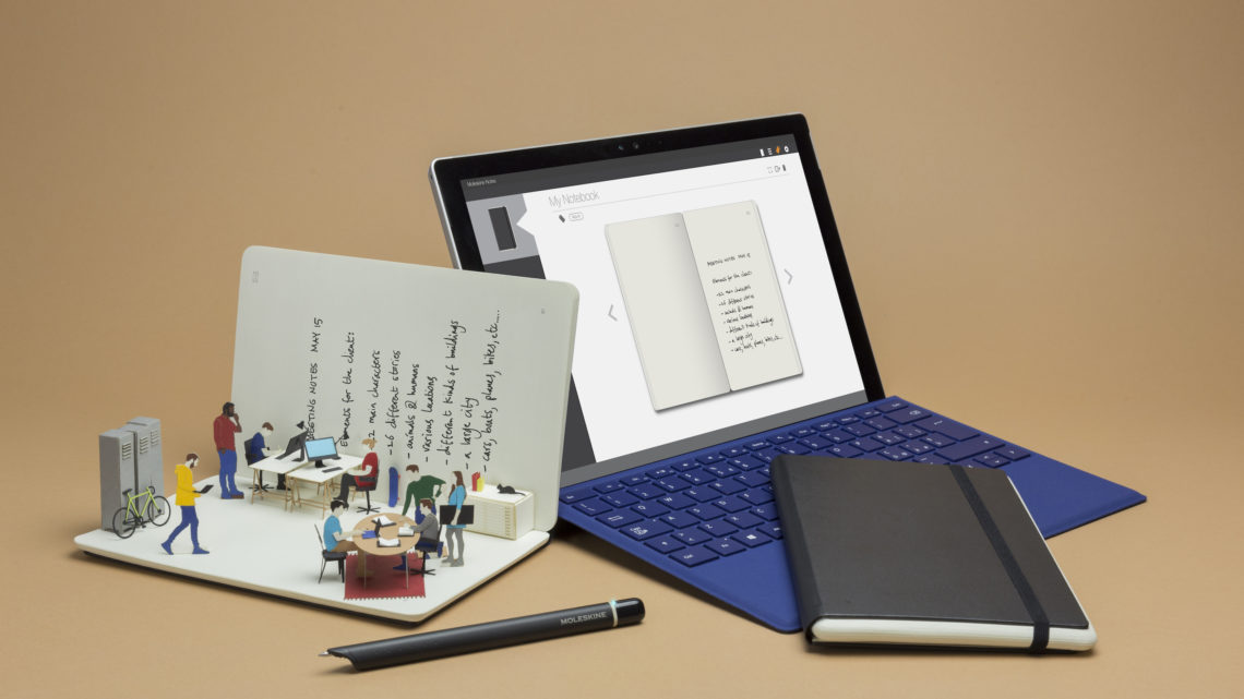 Moleskine's innovative writing tool!1