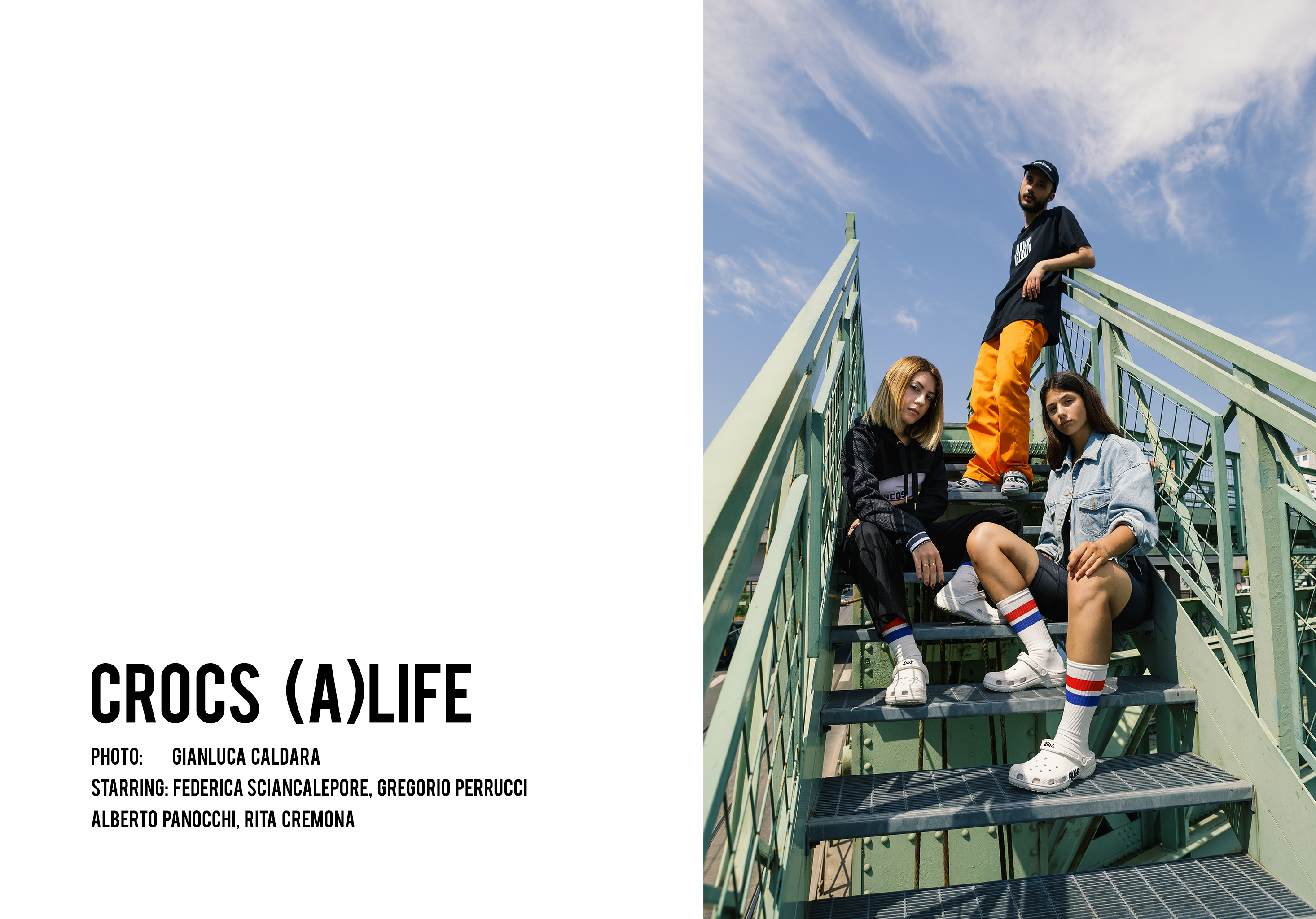 Crocs x Alife Editorial