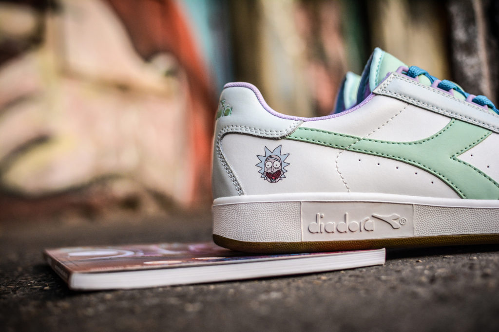 Diadora x Rick & Morty_B.Elite Rick Sanchez e Morty Smith _4