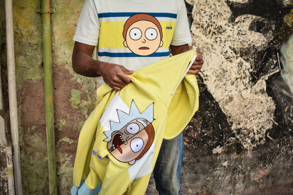 Diadora x Rick & Morty_Hoodie e T-shirt Rick Sanchez e Morty Smith_7