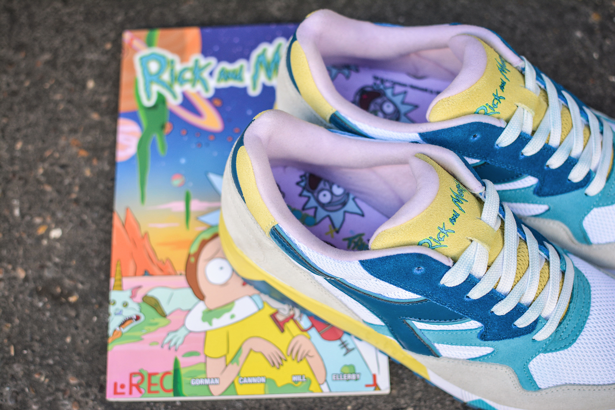 DIADORA x RICK AND MORTY EXCLUSIVE WhyNotMag