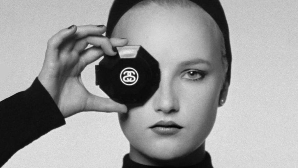 Stüssy tribute to Karl Lagerfeld