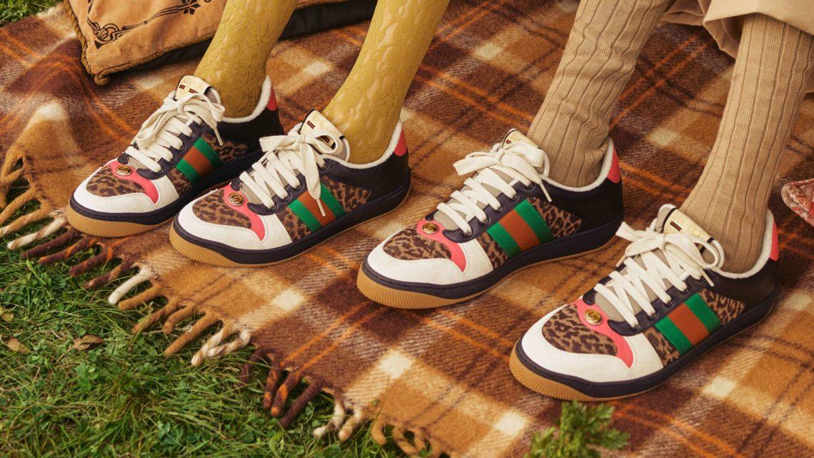 Gucci Drops Screener Sneakers