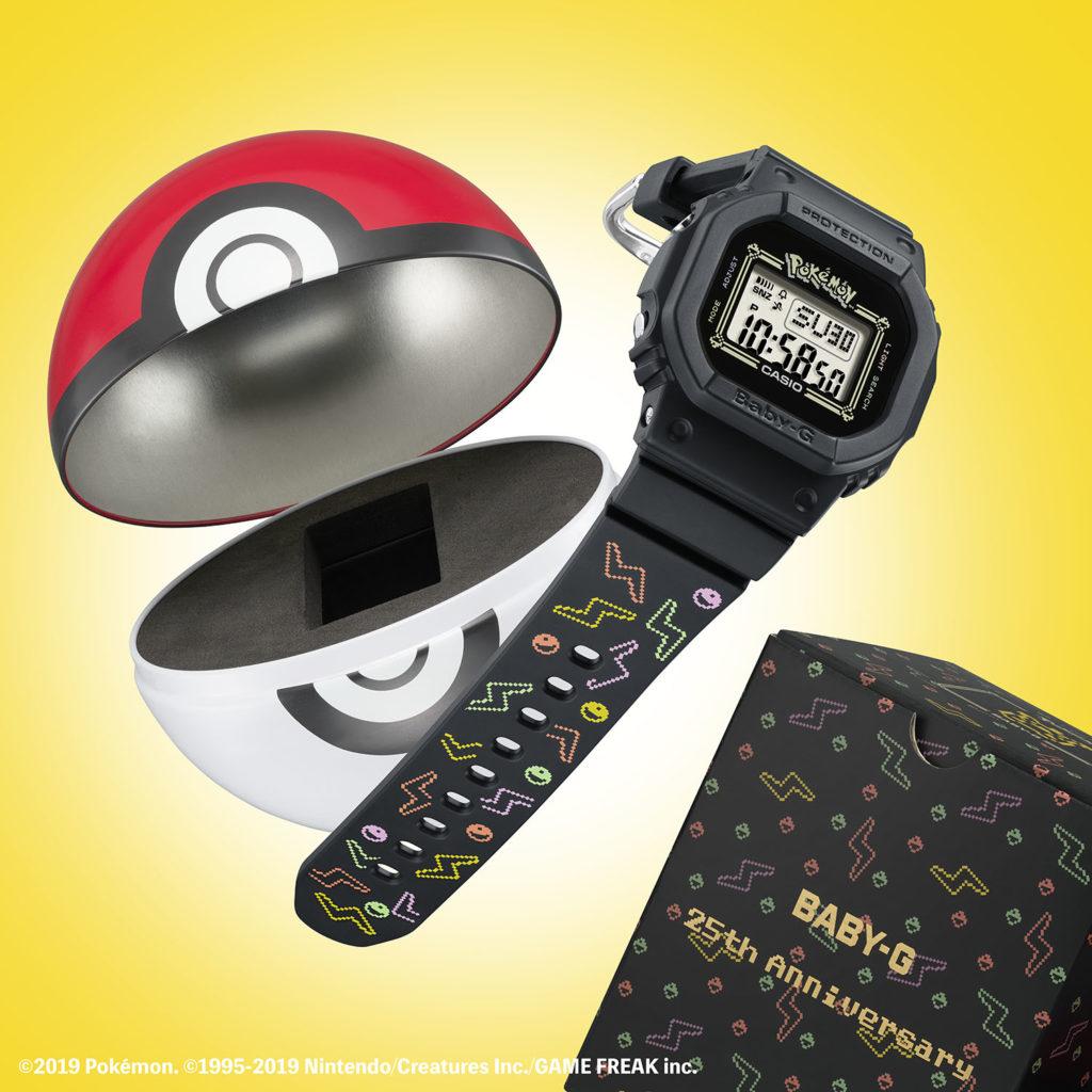 the pokemon x baby-g