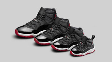 Air Jordan XI Black / True Red-White