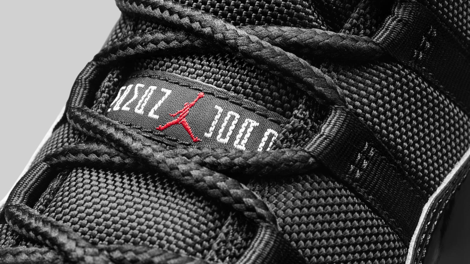 Air Jordan XI Black / True Red-White