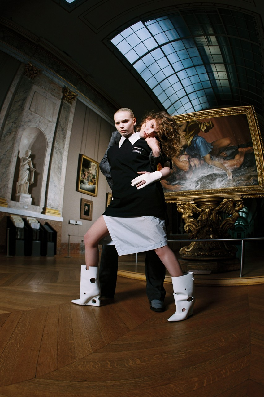 Off-White x Museo del Louvre - WhyNot Mag