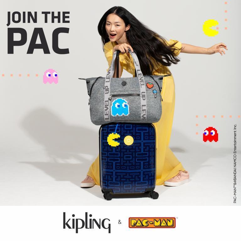 Kipling x Pac-Man - WhyNot Mag