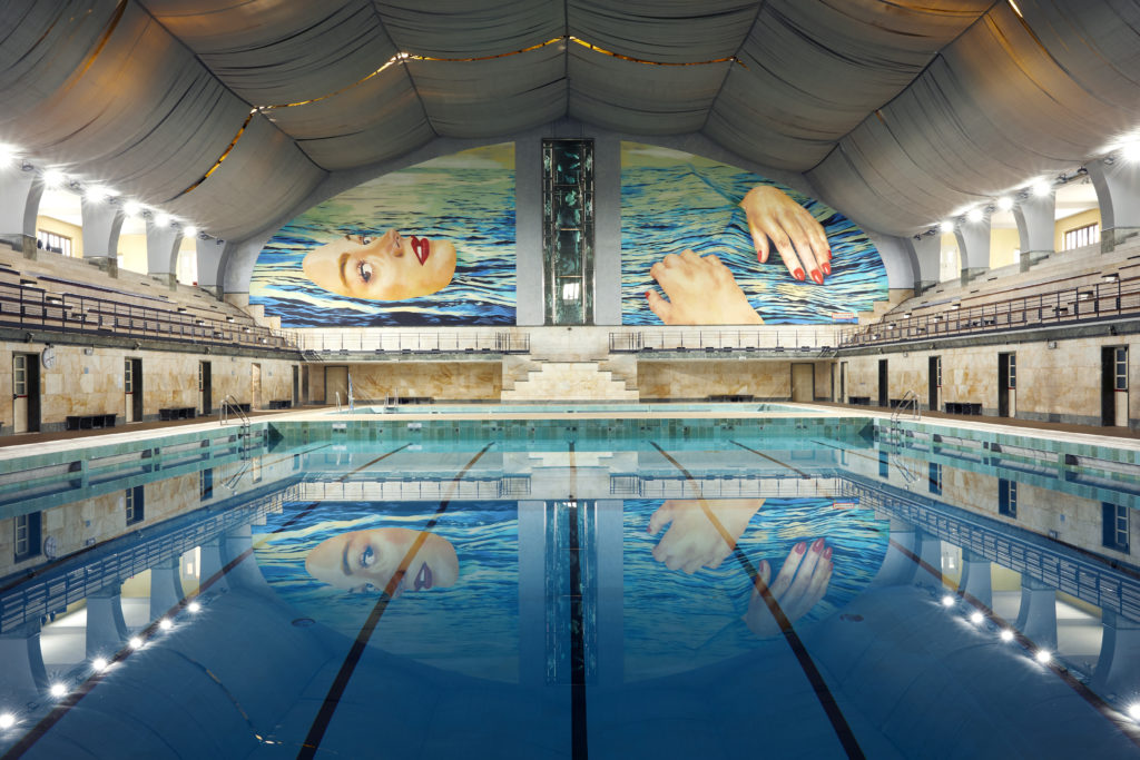 BE WATER, a project by TOILETPAPER in collaboration with Desigual, promoted by Comune di Milano and Milanosport_01_ph Alberto Zanetti